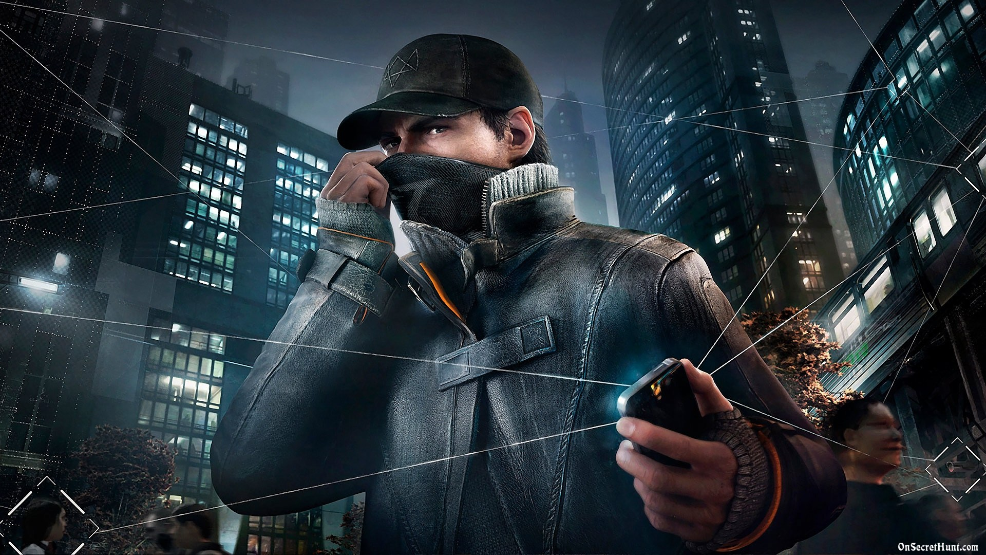 Watch Dogs Game Wallpaper HD